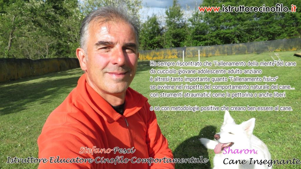 Il cane - il corpo - la mente- Stefano Pesci istruttore Educatore Cinofilo Comportamentale