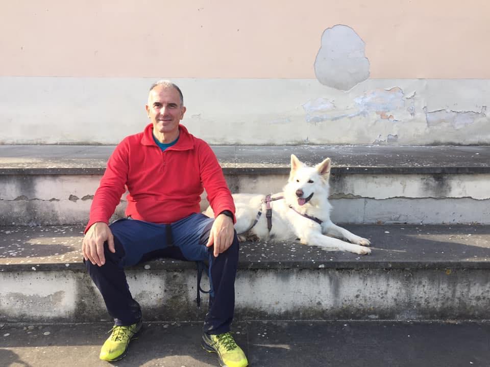 Stefano Pesci Istruttore Cinofilo Comportamentale - Sharon cane insegnante
